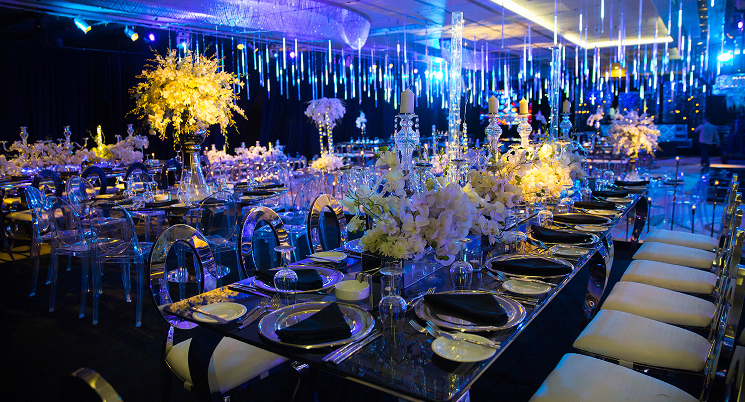 social and wedding events